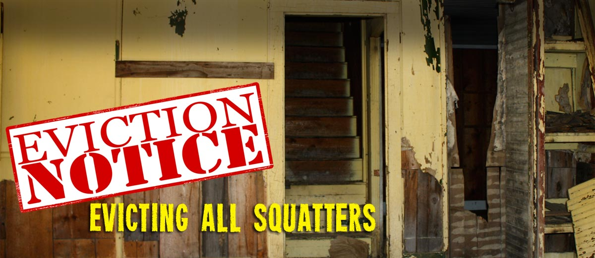 Evicting All Squatters by Pastor Tomika